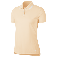 Nike Dry Victory Solid Golf Polo - Women's - Yellow