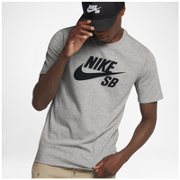 f7fc329788e0 Nike SB Dri-FIT Short Sleeve Logo T-Shirt - Men s - Grey