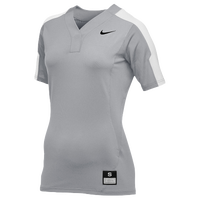 Nike Team Vapor Pro Button Jersey - Women's - Grey