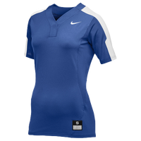 Nike Team Vapor Pro Button Jersey - Women's - Blue