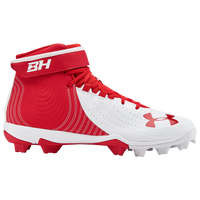 Under Armour Harper 4 Mid RM - Men's - Red / White