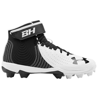 Under Armour Harper 4 Mid RM Jr - Boys' Grade School - Black / White