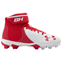 Under Armour Harper 4 Mid RM Jr - Boys' Grade School - Red / Red