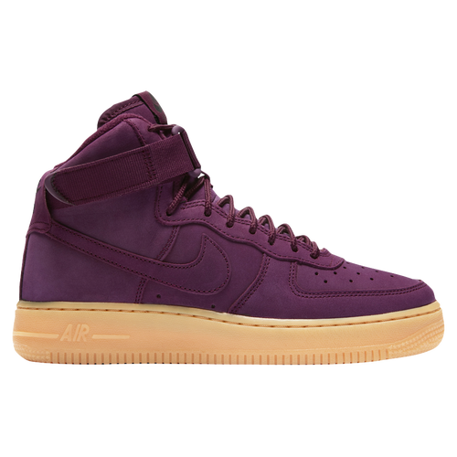 Nike Air Force 1 Mid - Boys\u0027 Preschool - Maroon / Maroon