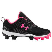 Under Armour Glyde RM Jr - Girls' Grade School - Black / Pink