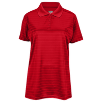 Eastbay EVAPOR Team Performance Polo 2.0 - Women's - Red / Red