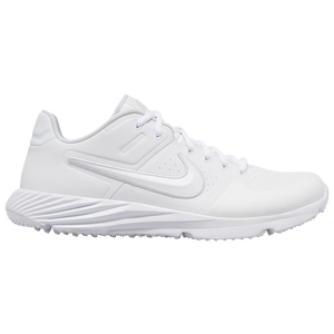 Nike Alpha Huarache Elite 2 Turf - Men's - White/White/Pure Platinum