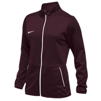 Nike Team Rivalry Jacket - Women's - Maroon / White