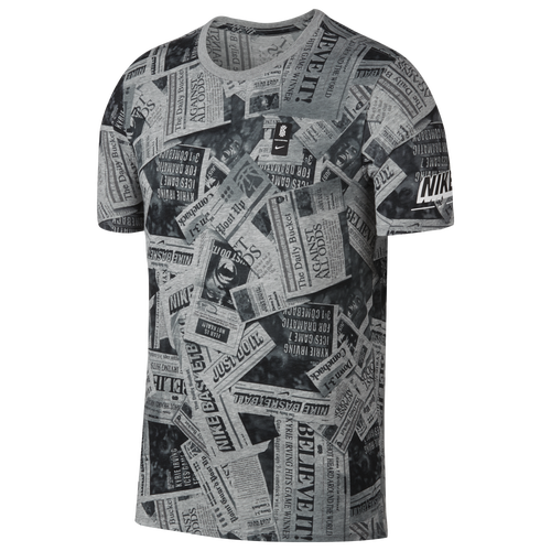 63d5ee6f Nike Kyrie Newspaper T-Shirt - Men's - Basketball - Clothing ...