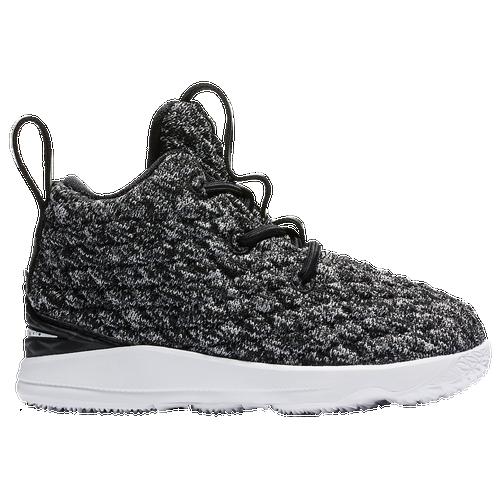 info for 876a4 7aefa ... nike lebron 15 boys toddler basketball shoes james lebron black white  white