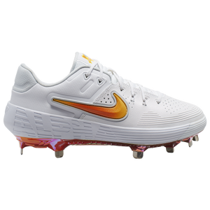 Nike Zoom Hyperdiamond 3 Elite - Women's - White/Magma Orange/Laser Orange