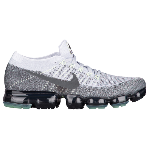 47faf863ec2db Nike Air VaporMax Flyknit - Men s - Running - Shoes - Pure  Platinum Anthracite White Dark Grey