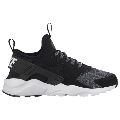 Nike Huarache Run Ultra - Boys' Preschool - Casual - Shoes - Black/Black/Anthracite/Cool  Grey