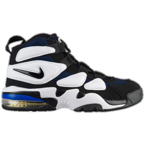 on sale bf062 656c5 Nike Air Max 2 Uptempo  94 - Men s - Casual - Shoes - White Black Royal Blue  Lemon Twist