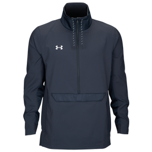 Under Armour Team Swoven 1/2 Zip - Men's - Stealth Gray/White