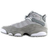 Jordan 6 Rings - Men's - Silver / White