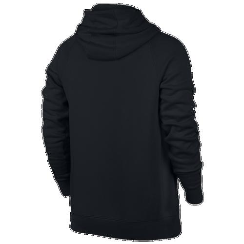jordan clothing. jordan flight fleece pull over hoodie - men\u0027s basketball clothing black/white r