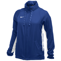 Nike Team Authentic Dry Jacket - Women's - Blue / White