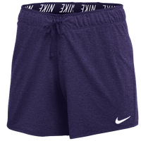 Nike Team Authentic Dry Attack Shorts - Women's - Purple / White