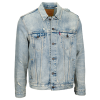 Leviu0027s Trucker Denim Jacket - Menu0027s - Light Blue / Light Blue  sc 1 st  Foot Locker & Menu0027s Jackets | Foot Locker azcodes.com