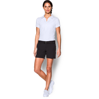 Under Armour Zinger Golf Polo - Women's - All White / White