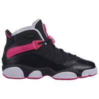 Jordan 6 Rings - Girls' Grade School - Black