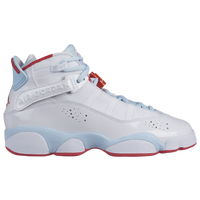 Jordan 6 Rings - Girls' Grade School - White