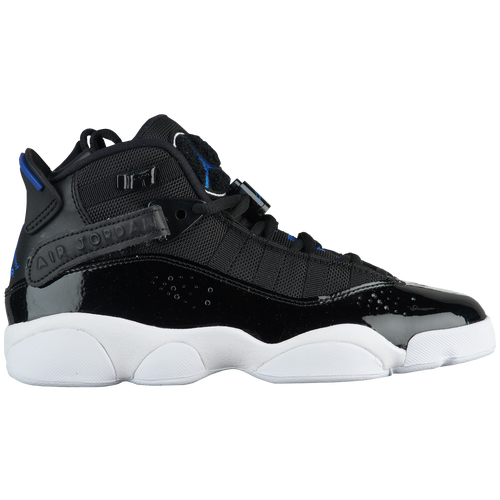 Jordan 6 Rings  Boys' Grade School  Black|Blue