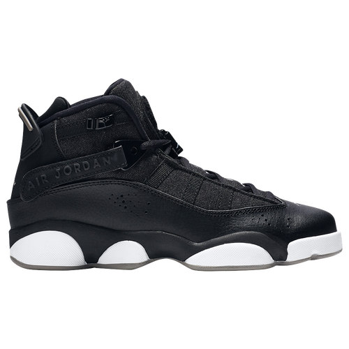 Jordan 6 Rings - Boys' Grade School - Black / White