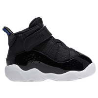 Jordan 6 Rings - Boys' Toddler - Black / Blue