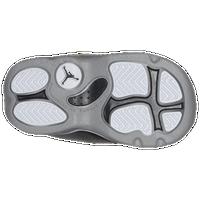 Special Jordan 6 Rings Boys Toddler Basketball Shoes BlackMatte SilverWhite