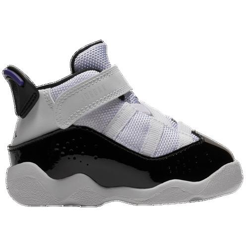 b95cbe790ae8a8 Jordan 6 Rings - Boys  Toddler - Casual - Basketball - Black Matte  Silver White