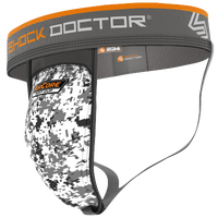 Shock Doctor Supporter With Aircore Cup - Boys' Grade School - Grey / Gold