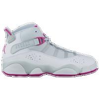 7aa3eafdda71 Jordan 6 Rings - Girls  Preschool - Casual - Basketball - Pure  Platinum Fuchsia Blast White