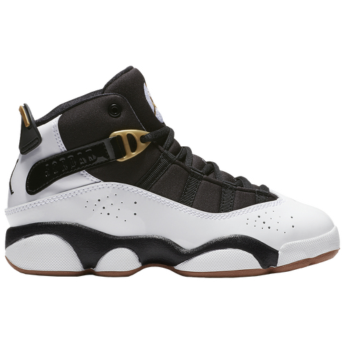 Jordan 6 Rings - Girls  Preschool - Basketball - Shoes - White Black ... 7c0c4addd81