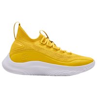 Under Armour Curry 8 - Boys' Grade School - Yellow