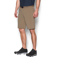 Under Armour Tech Golf Shorts - Men's - Tan