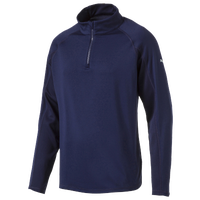PUMA Core Golf 1/4 Zip Popover - Men's - Navy / Navy