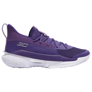 Under Armour Curry 7 - Men's - Curry, Stephen - Purple/White/Met Silver