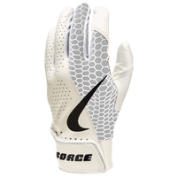 Nike Force Edge Padded Batting Glove - Men's - White