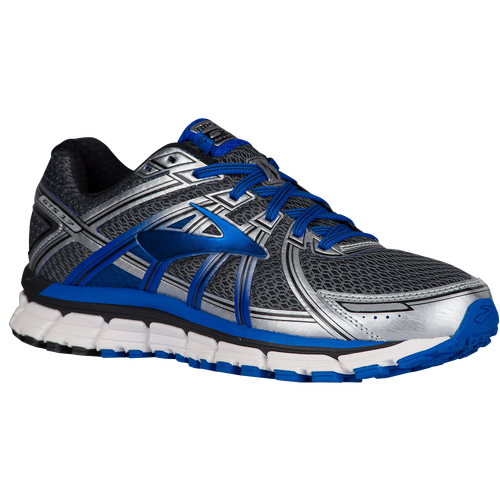 f0562cb1010b5 Brooks Adrenaline GTS 17 - Men s - Running - Shoes - Anthracite Electric  Blue Silver