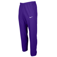 Nike Team Woven Pants - Men's - Purple / Purple