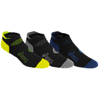 ASICS® Intensity Single Tab 3 Pack Socks - Men's - Black / Blue