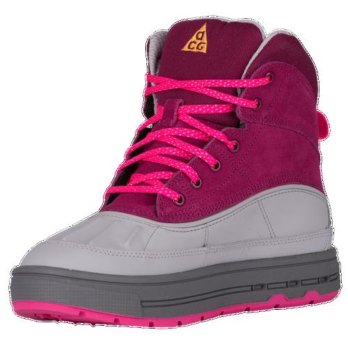 Nike Woodside II - Girls' Grade School - Nike - Casual - Raspberry  Red/Laser Orange/Pink Foil/Wolf Grey