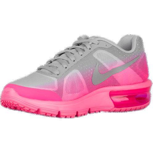 Nike Air Max Sequent - Girls' Grade School - Nike - Running - Vivid Purple/Bright  Crimson/Fuchsia Glow/White