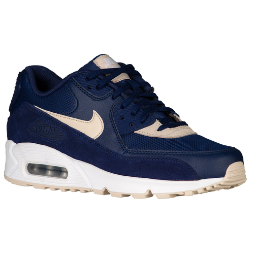 Nike Air Max 90 - Women's - Navy / Tan