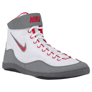 Nike Inflict 3 - Men's - White/University Red/Cool Grey/Black