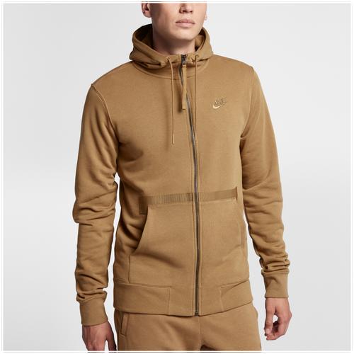 32017876542e Nike AF1 Full-Zip Hoodie - Men s - Casual - Clothing - Golden Beige ...