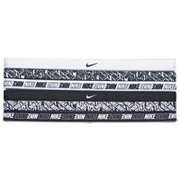 Nike Printed Headbands - Women's - Black / White