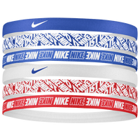 Nike Printed Headbands - Women's - White / Blue